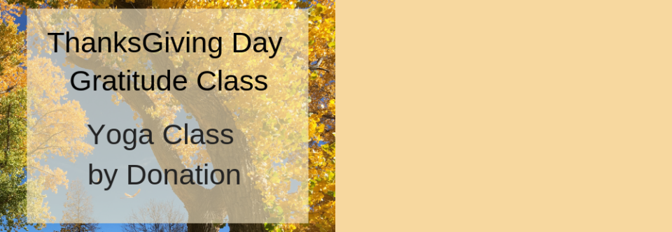 Thanksgiving Yoga Class