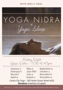 Yoga Nidra Flyer
