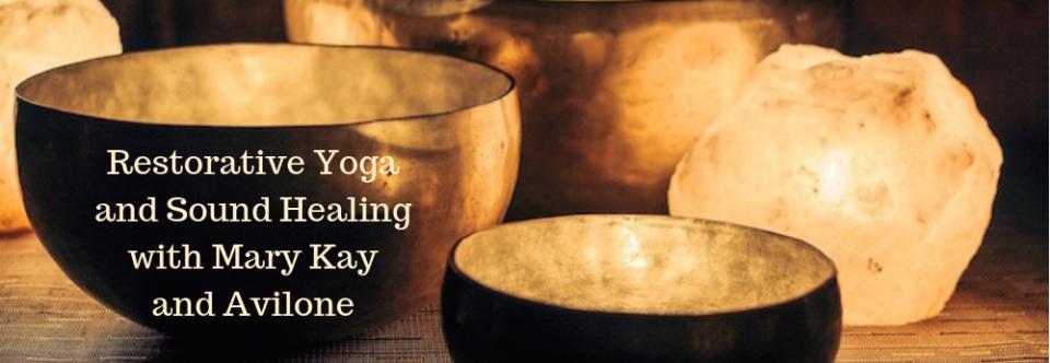 Restorative Yoga and Sound Healing