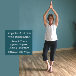 Yoga for Arthritis 8 Week Series - Link to Flyer